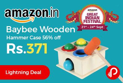 Baybee Wooden Hammer Case