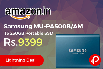 Samsung MU-PA500B/AM T5 250GB Portable SSD