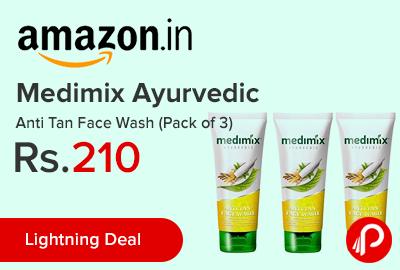 Medimix Ayurvedic Anti Tan Face Wash