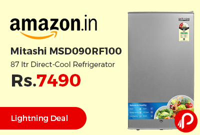 Mitashi MSD090RF100 87 ltr Direct-Cool Refrigerator