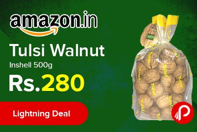 Tulsi Walnut Inshell 500g