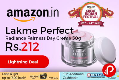 Lakme Perfect Radiance Fairness Day Creme 50g