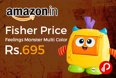 Fisher Price Feelings Monster Multi Color