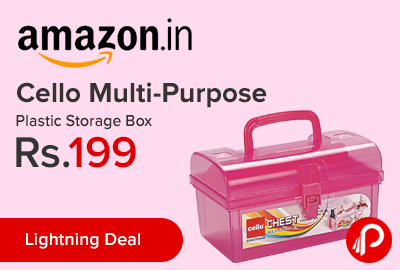 Cello Multi-Purpose Plastic Storage Box