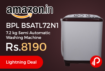 BPL BSATL72N1 7.2 kg Semi Automatic Washing Machine
