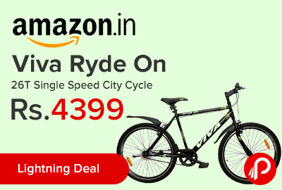Viva Ryde On 26T Single Speed City Cycle
