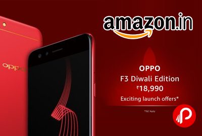 Oppo F3 Diwali Edition Red Mobile 64GB