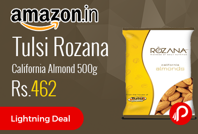 Tulsi Rozana California Almond 500g