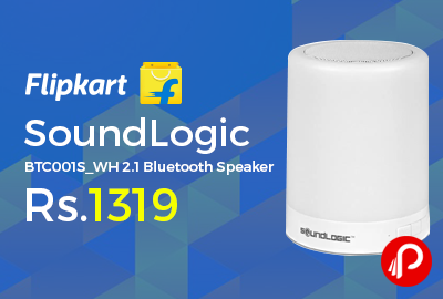 SoundLogic BTC001S_WH 2.1 Bluetooth Speaker