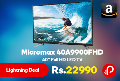 "Micromax 40A9900FHD 40"" Full HD LED TV"