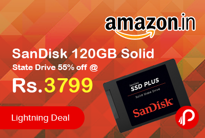 SanDisk 120GB Solid State Drive