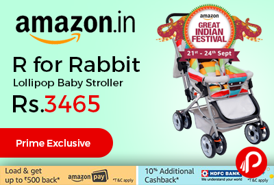 R for Rabbit Lollipop Baby Stroller