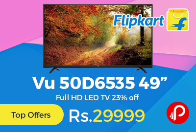 "Vu 50D6535 49"" Full HD LED TV"