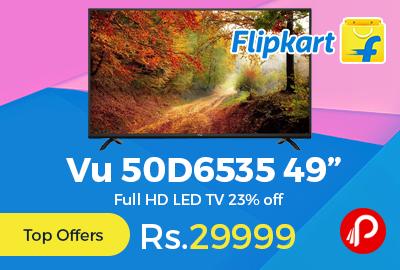 """Vu 50D6535 49"""" Full HD LED TV"""