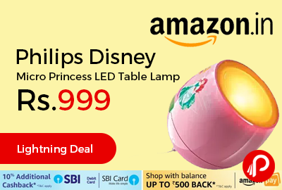 Philips Disney Micro Princess LED Table Lamp