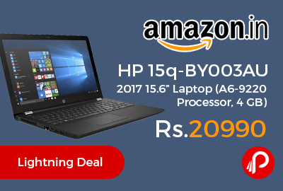 "HP 15q-BY003AU 2017 15.6"" Laptop"