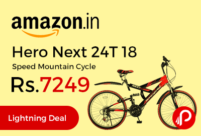 Hero Next 24T 18 Speed Mountain Cycle