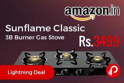Sunflame Classic 3B Burner Gas Stove