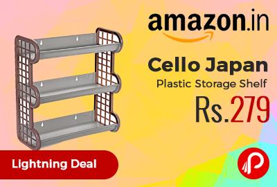 Cello Japan Plastic Storage Shelf