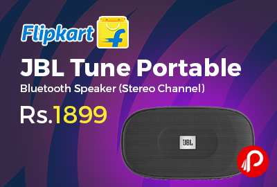 JBL Tune Portable Stereo Bluetooth Speaker