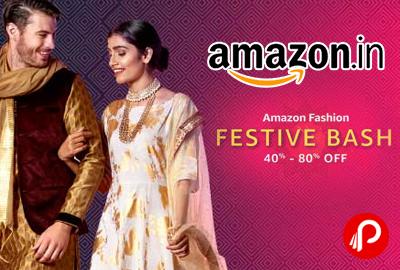Festive Bash Amazon Fashion