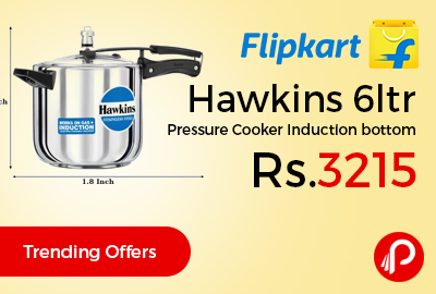 Hawkins 6ltr Pressure Cooker Induction bottom