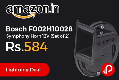 Bosch F002H10028 Symphony Horn 12V