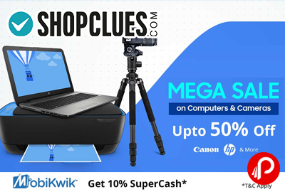 Mega Sale on Computers and Cameras