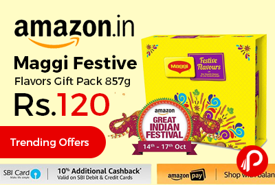 maggi festive flavors gift pack 857g price list in india