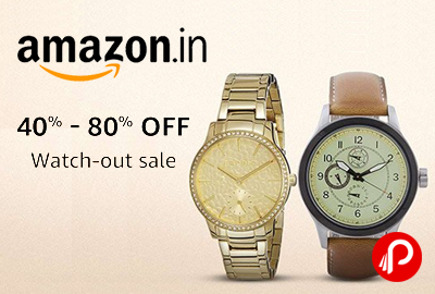 Watch-Out Sale for Watches