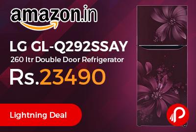 LG GL-Q292SSAY 260 ltr Double Door Refrigerator