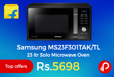 Samsung MS23F301TAK/TL 23 ltr Solo Microwave Oven