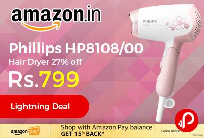 Phillips HP8108/00 Hair Dryer