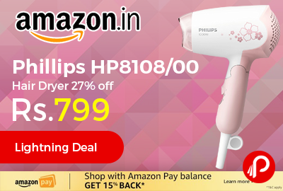 Phillips HP8108/00 Hair Dryer
