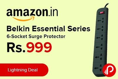 Belkin Essential Series 6-Socket Surge Protector