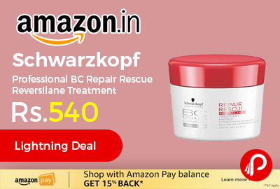 Schwarzkopf Professional BC Repair Rescue Reversilane Treatment