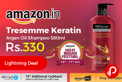 Tresemme Keratin Smooth Argan Oil Shampoo 580ml