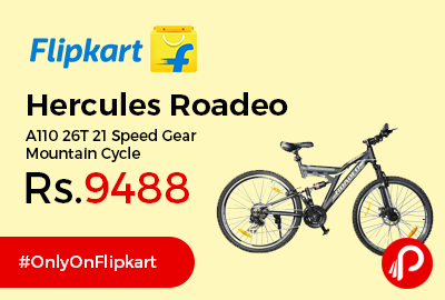 Hercules Roadeo A110 26T 21 Speed Gear Mountain Cycle