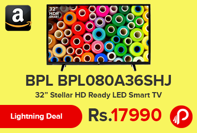 "BPL BPL080A36SHJ 32"" Stellar HD Ready LED Smart TV"