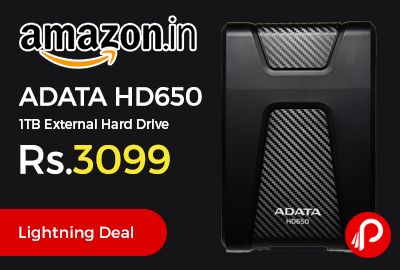 ADATA HD650 1TB External Hard Drive