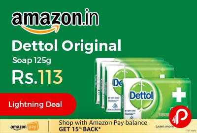 Dettol Original Soap 125g