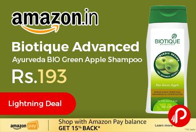 Biotique Advanced Ayurveda BIO Green Apple Shampoo