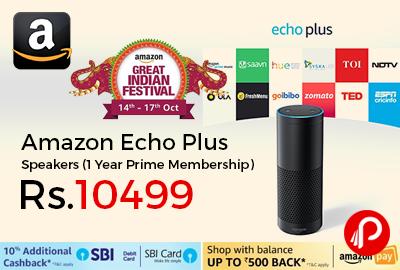 Amazon Echo Plus Speakers