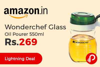 Wonderchef Glass Oil Pourer 550ml