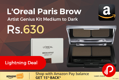 L'Oreal Paris Brow Artist Genius Kit Medium to Dark