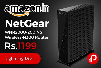NetGear WNR2000-200INS Wireless-N300 Router