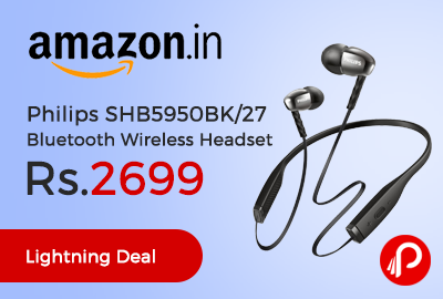 Philips SHB5950BK/27 Bluetooth Wireless Headset