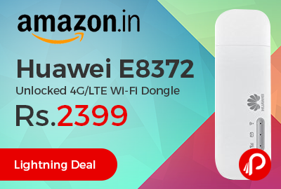 Huawei E8372 Unlocked 4G/LTE Wi-Fi Dongle