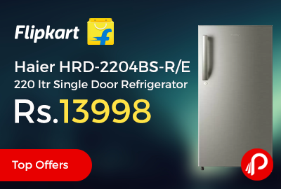 Haier HRD-2204BS-R/E 220 ltr Single Door Refrigerator
