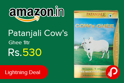Patanjali Cow's Ghee 1ltr